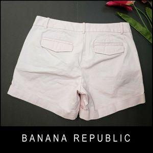 Banana Republic Shorts - Banana Republic Women Folded Hem Short Size 4 Pink